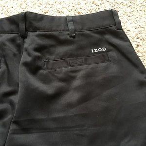 IZOD Men's Golf SwingFlex Cargo Short, Black